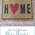 Sense & Serendipity | Tips for Making a New House Feel Like Home
