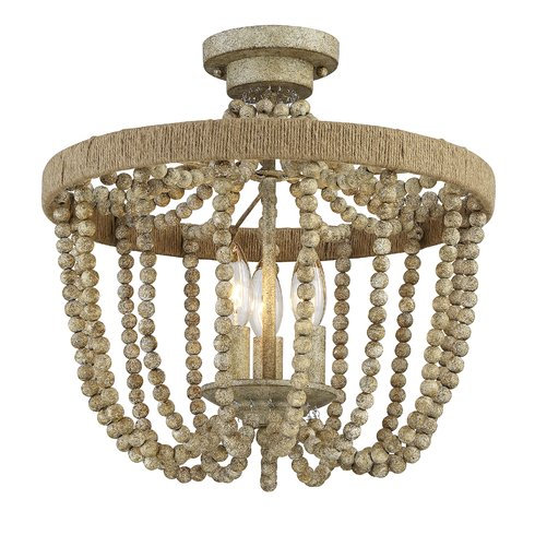 French Country Style Flush Mount Fixtures | Sense & Serendipity
