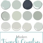 Modern French Country Paint Guide