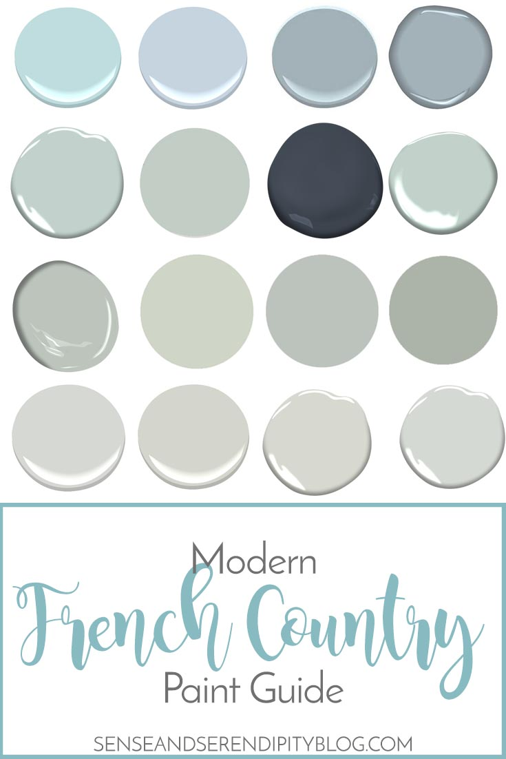 French Country Paint Guide   Sense & Serendipity
