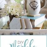 DIY Marble Coasters