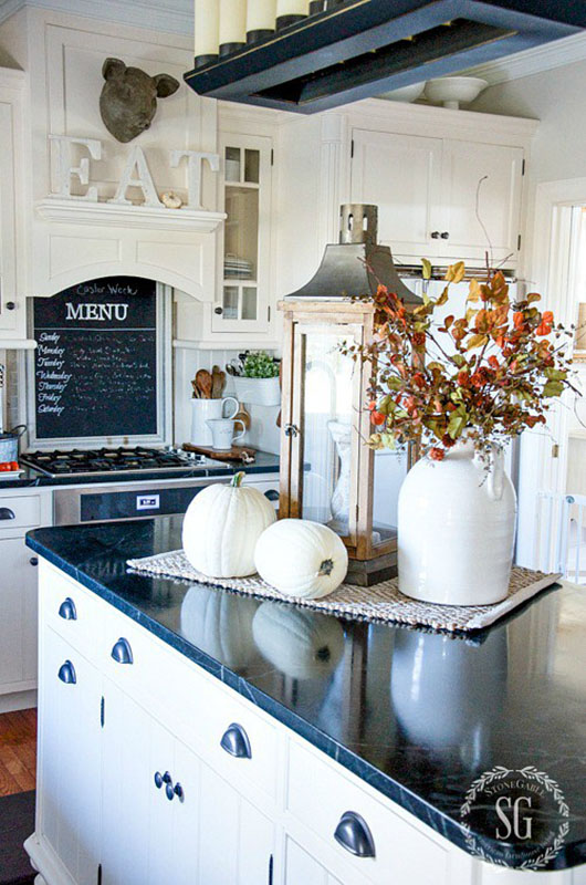 Room by Room Fall Decor: Kitchen & Dining Room - Sense ... on Countertop Decor  id=84544