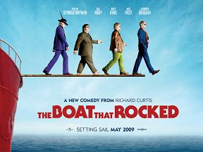 Film poster for The Boat That Rocked - Copyrig...