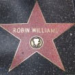 Robin Williams' star on the Walk of Fame