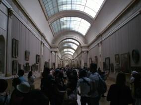 Himmel und Menschen im Louvre