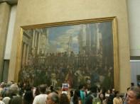 Das letzte Abendmahl im Louvre