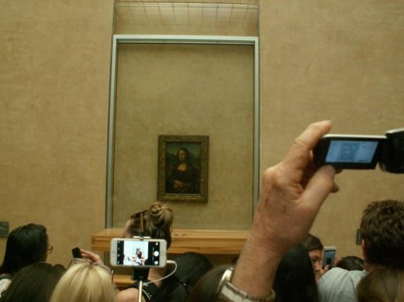 Die Mona Lisa von nicht ganz nah dran
