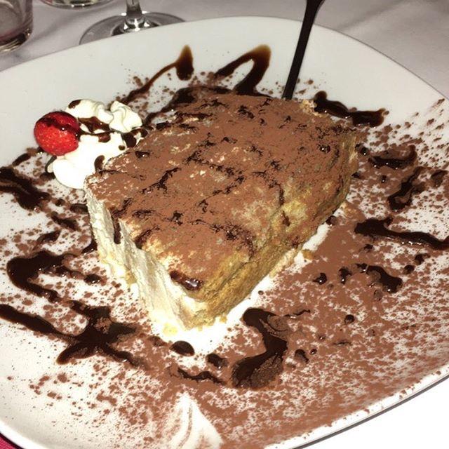 Tiramisu zum Nachtisch! - via Instagram