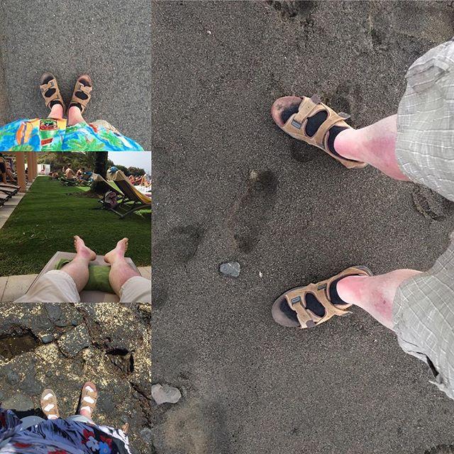 Walking in my shoes collage... - via Instagram