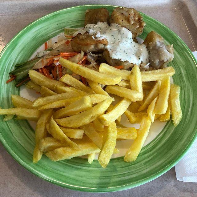 Fish & Chips nach Art der #Mensa <a rel=
