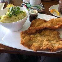 Heute lecker 🤤 gegessen in Potsdam beim Café Heider #foodporn #foodlover #food #wienerschnitzel - via Instagram