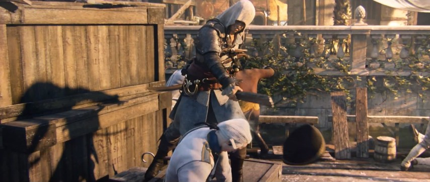 assassins creed iv in action