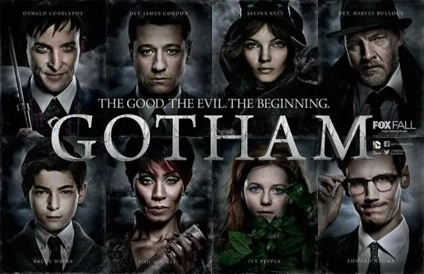 Karaktärerna i Gotham