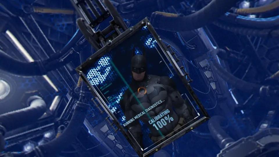 Att spegla sig och se Batman är en sjukt cool upplevelse!