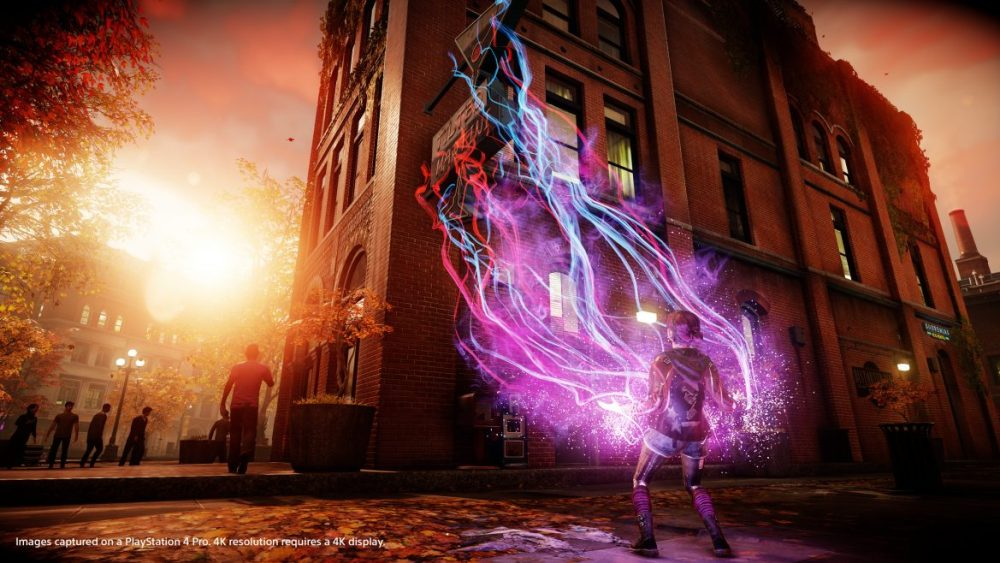 InFAMOUS Second Son First Light PS4 Pro