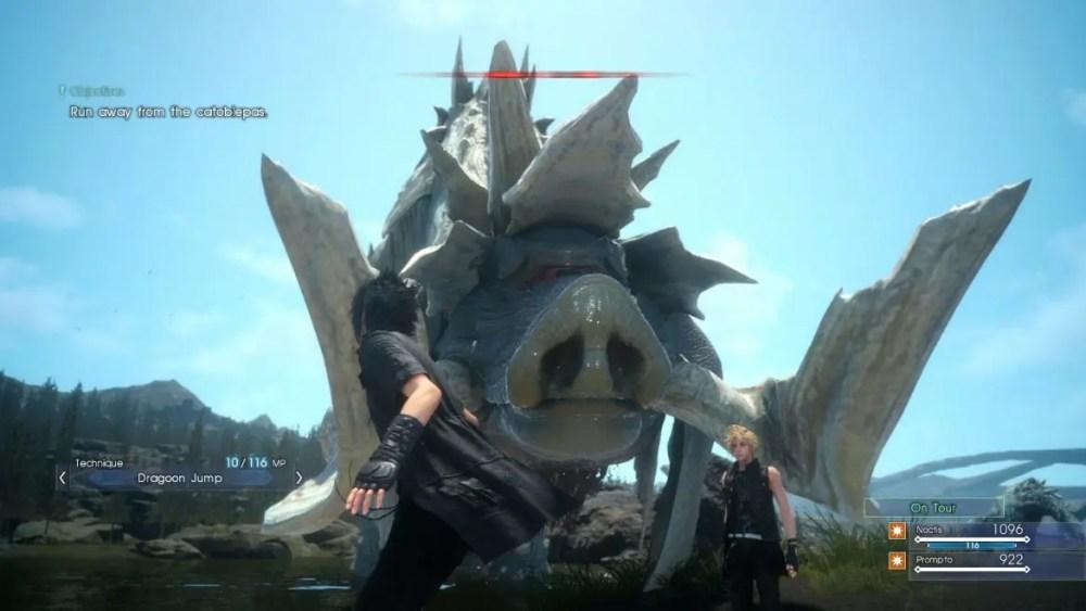 Final Fantasy XV boss