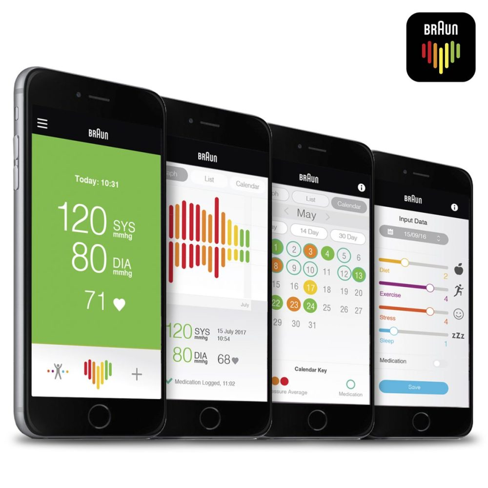 Braun healthy heart app