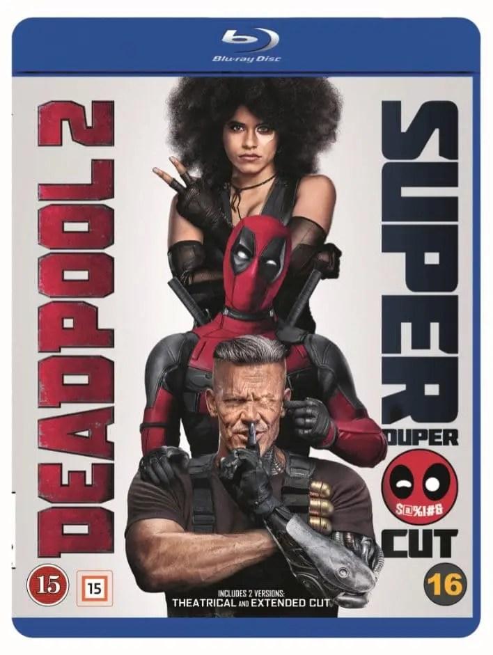 deadpool 2 super duper cut blu-ray tävling