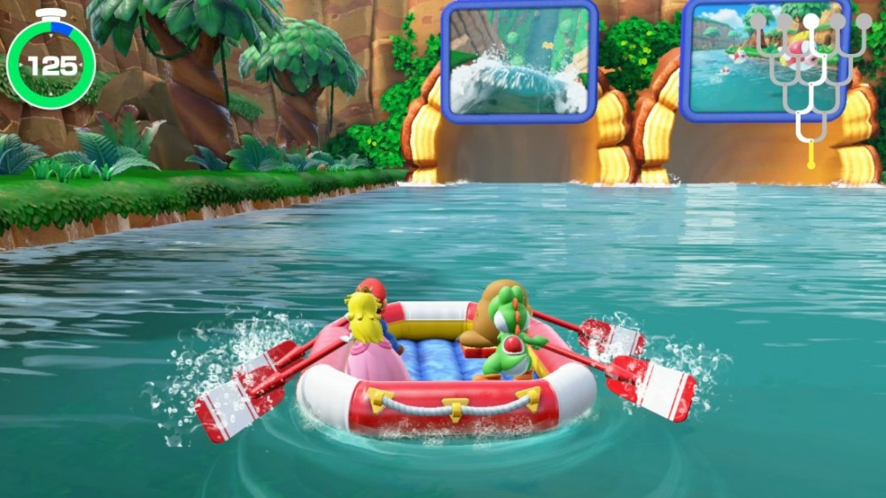 super mario party recension