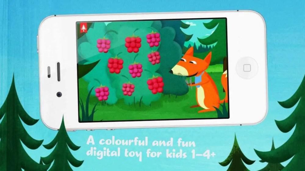 kapu toys forest barnspel mobil