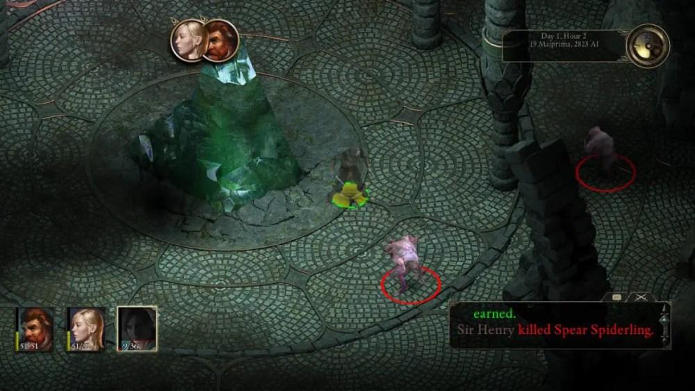Pillars of Eternity - Screenshot - Switch