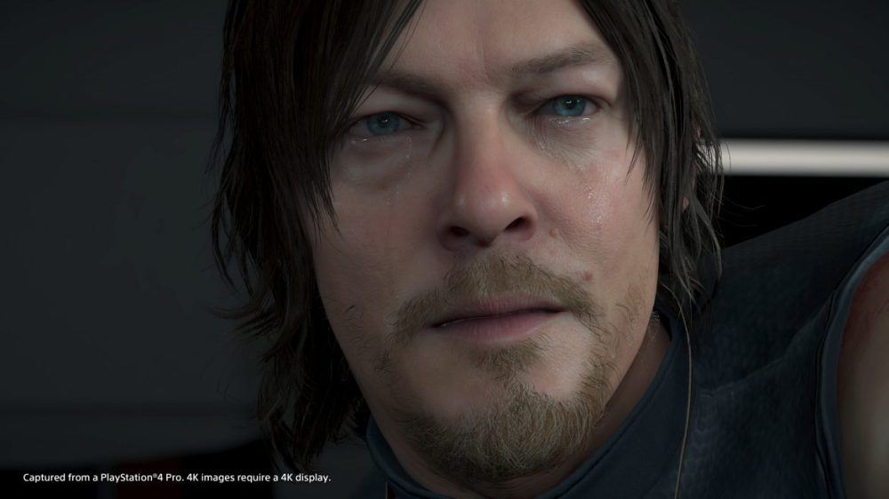 Death Stranding Norman Reedus face