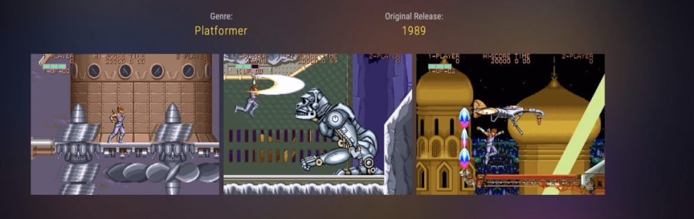 Strider Capcom Home Arcade