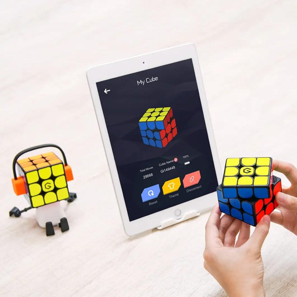 giiker super cube i3se app platta antal moves