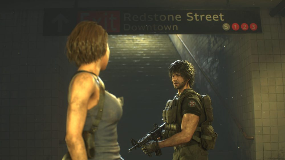 Resident Evil 3 Remake-Screenshot Xbox one X - Copyright 2020 - Capcom