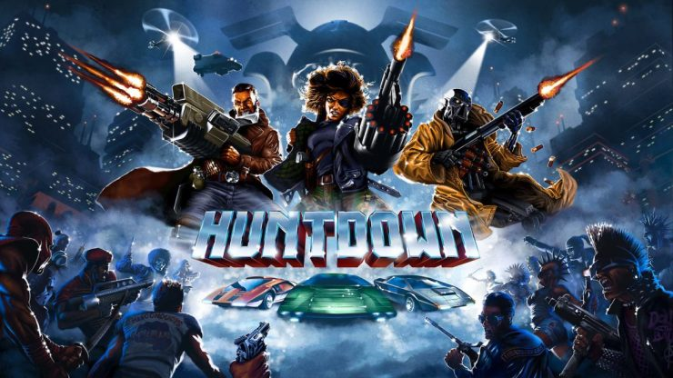huntdown recension