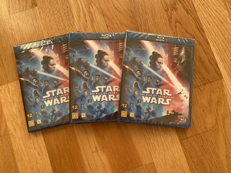 star wars rise of skywalker bluray senses tävling