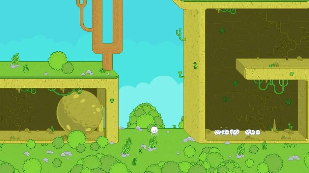 Spinch - Queen Bee Games - Screenshot Nintendo Switch - copyright 2020