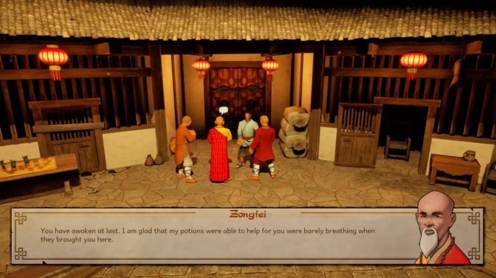 9 Monkeys of Shaolin - Sobaka Studio - screenshot Playstation 4 - copyright 2020