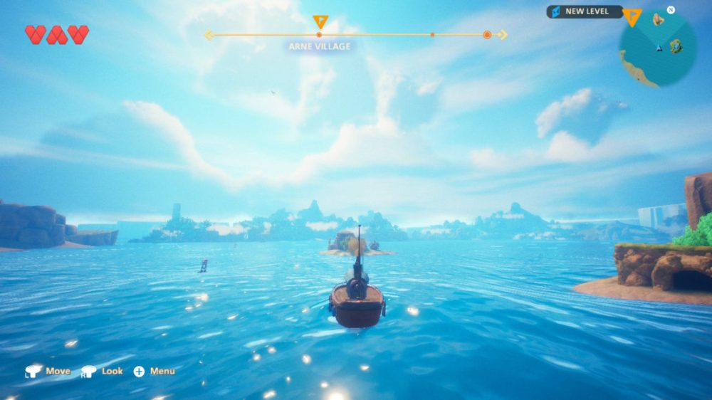 Oceanhorn 2: Knights of the Lost Realm - Cornfox & Bros. copyright 2020. screenshot Nintendo Switch