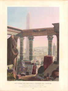 Fac-Simile Des Monumens Coloriés De L'Égypte