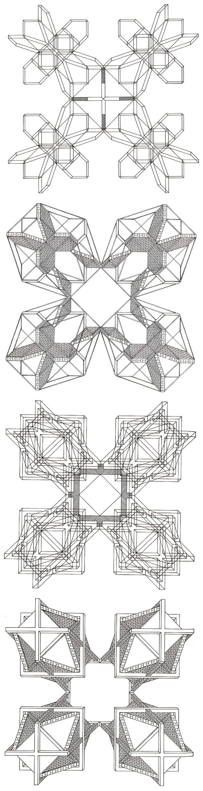 Stanley Tigerman and GL Crabtree Structures Lozenge 1