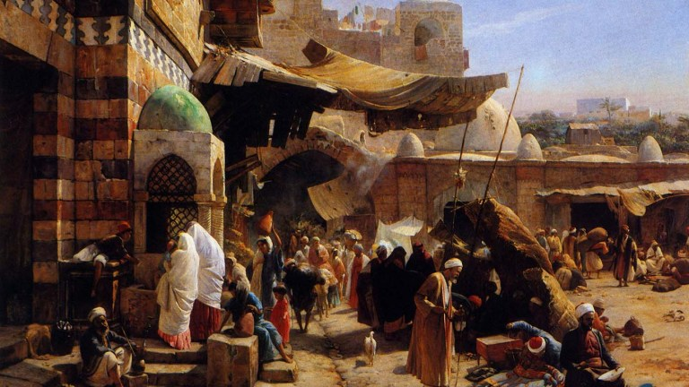 Another look at Orientalism in German painting