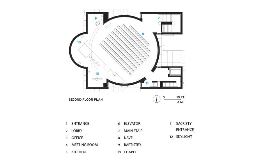 Siza Church Plan