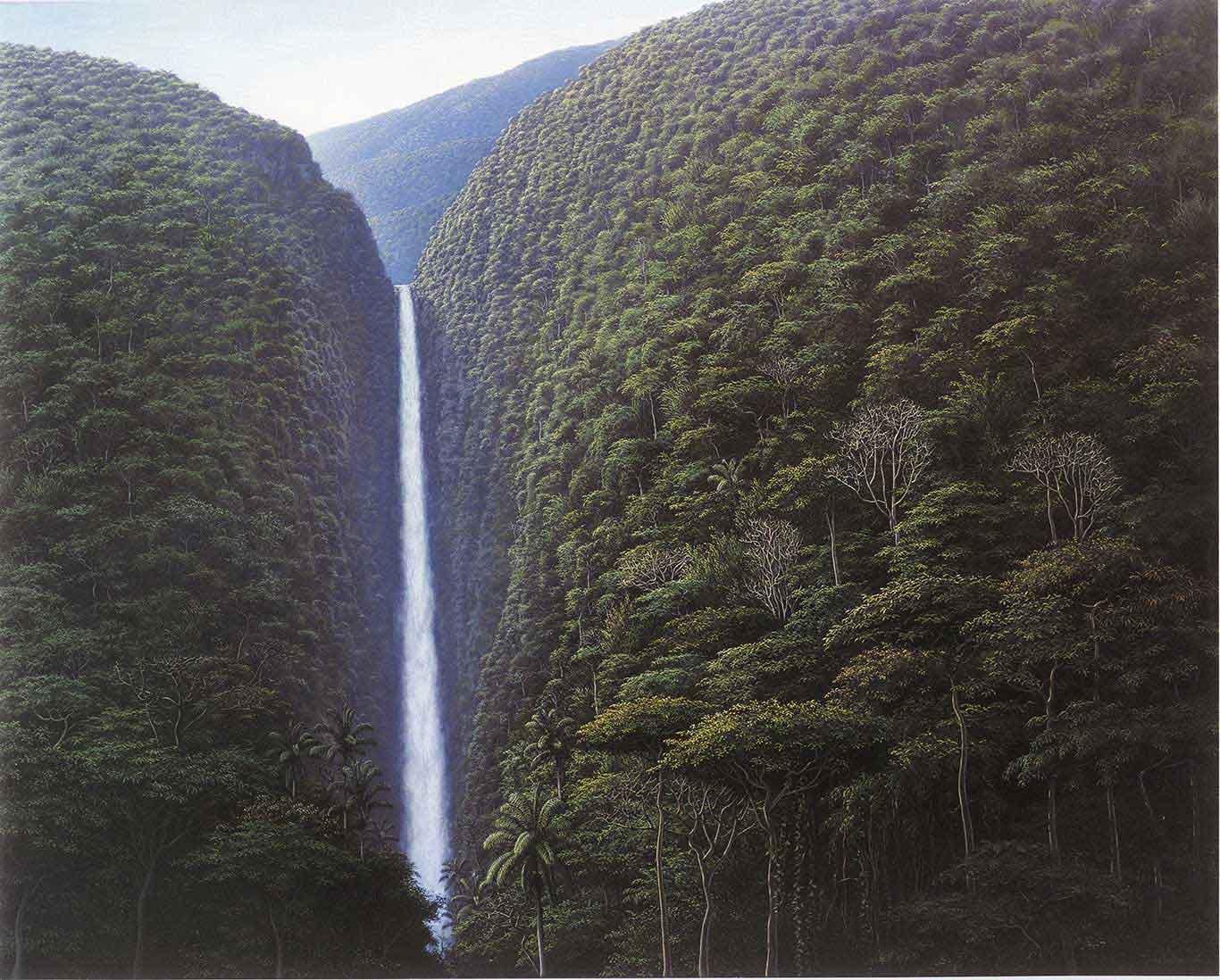 Cascada escondida, 2000