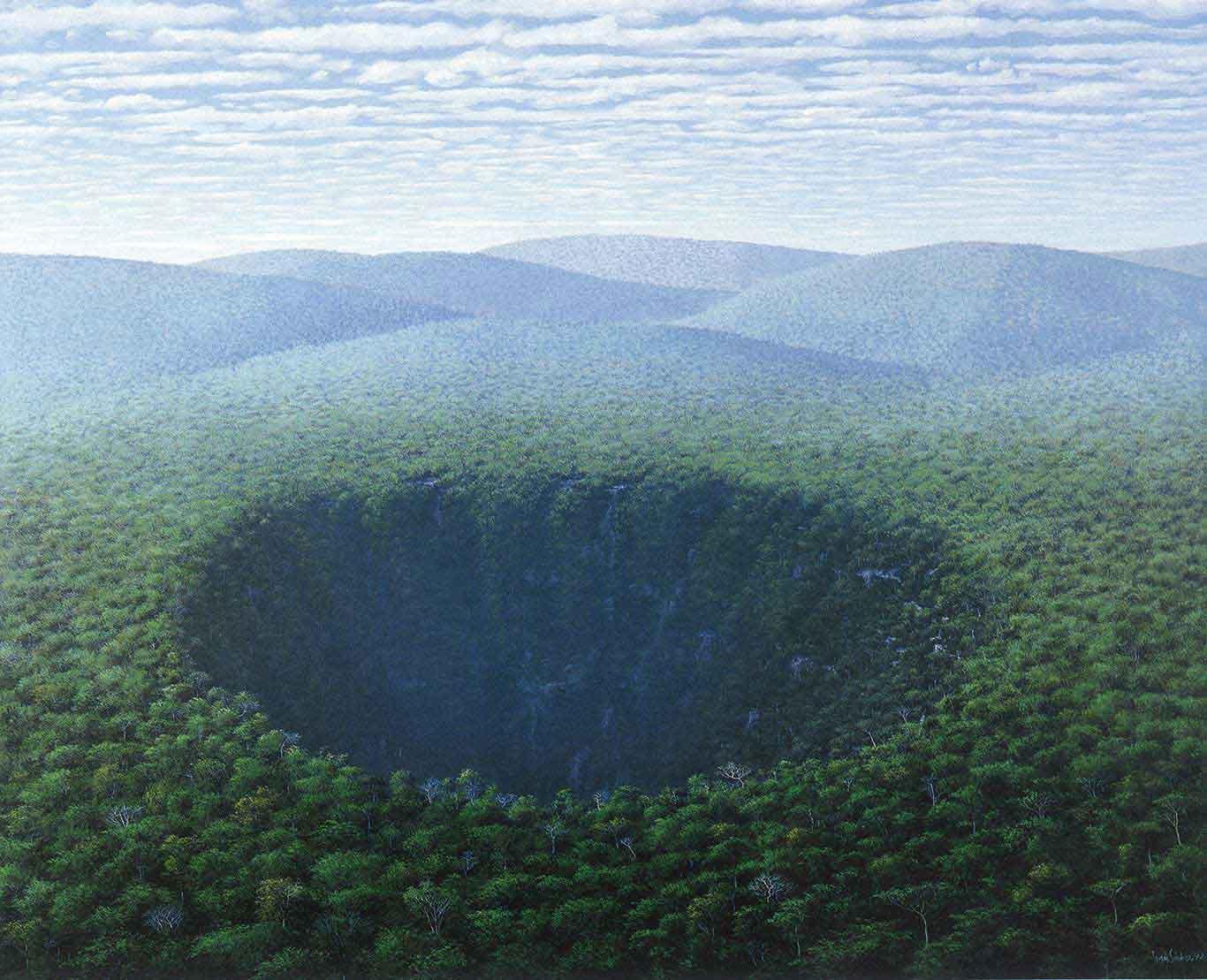 Crater, 1993 Tomás Sánchez