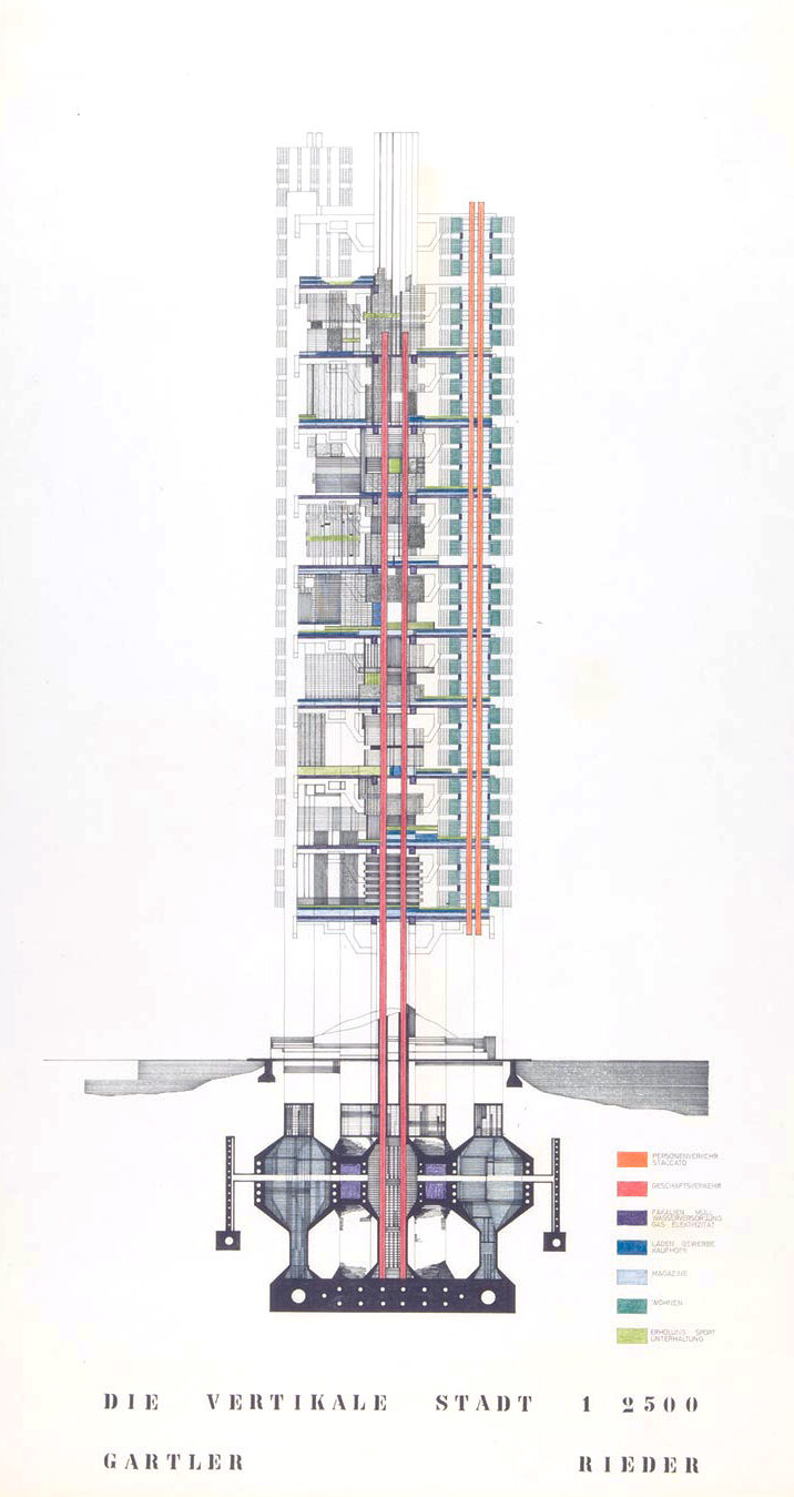 Klaus Gartler & Helmut Rieder Vertical City