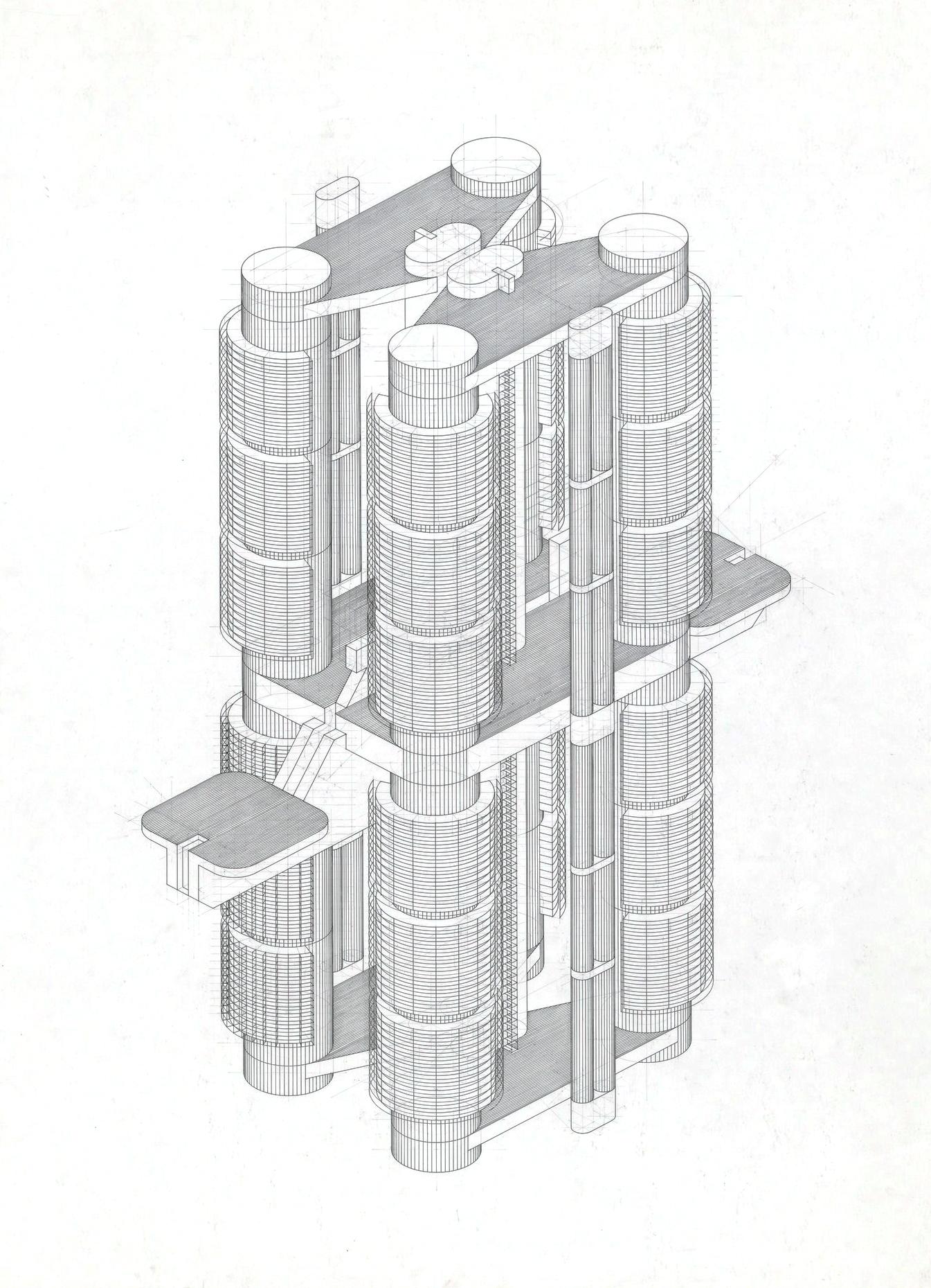 Friedrich St Florian Vertical City