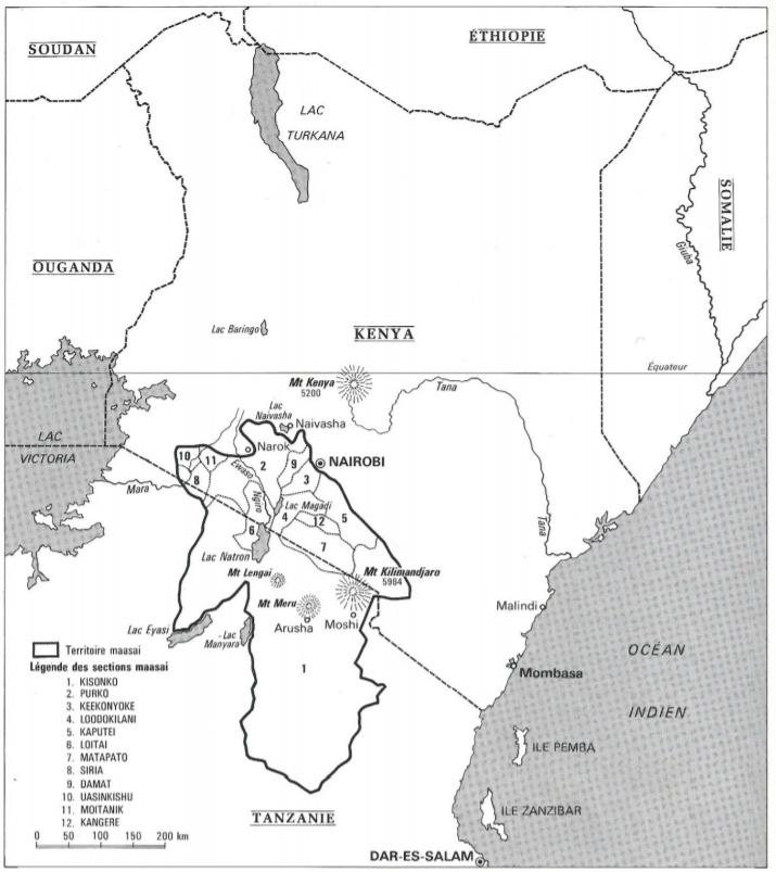 Maasai Map Territory