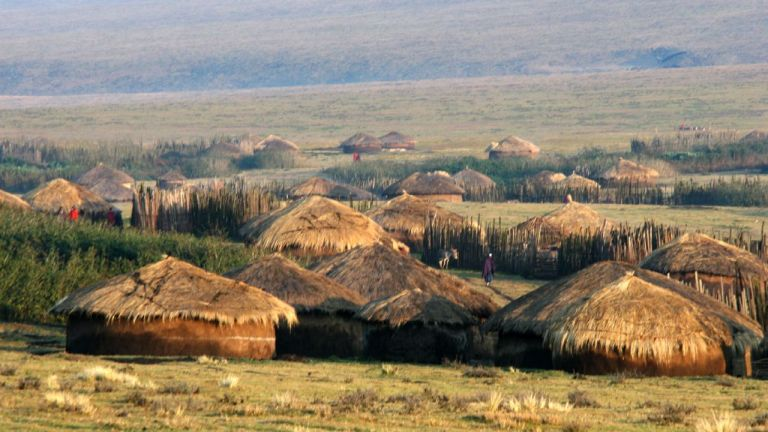 Maasai Villages, an Architecture Designed by the Traditional Pastoral Way of Life