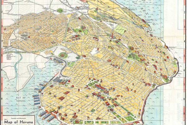 Map of Havana, a Witness to Cuban-American Relations