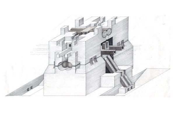 Walter Pichler, Nucleus and Underground Building
