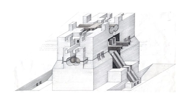 Walter Pichler, Nucleus and Underground Building