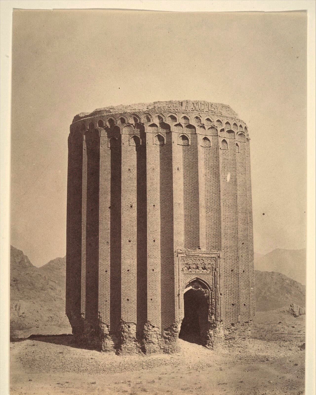 The 12th Century Tower of Tughrul, Rey, northern Iran