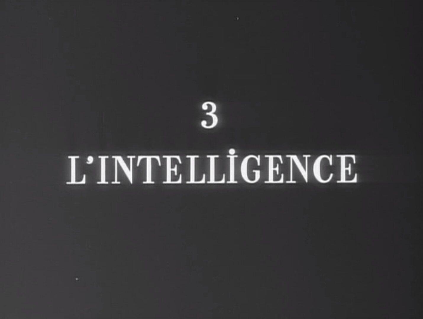 Roger Leenhardt L'intelligence Une Femme mariée Godard