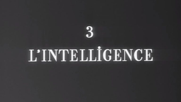 Roger Leenhardt, l'Intelligence
